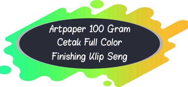 Kalender Artpaper 100 Gram