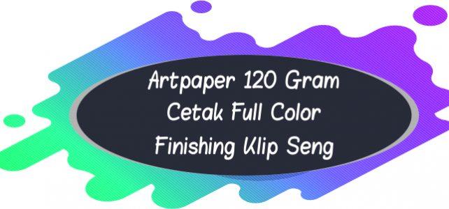 Kalender Artpaper 120 Gram