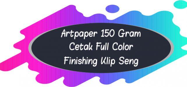 Kalender Artpaper 150 Gram