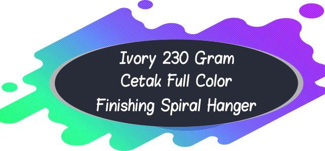 Kalender Ivory 230 Gram